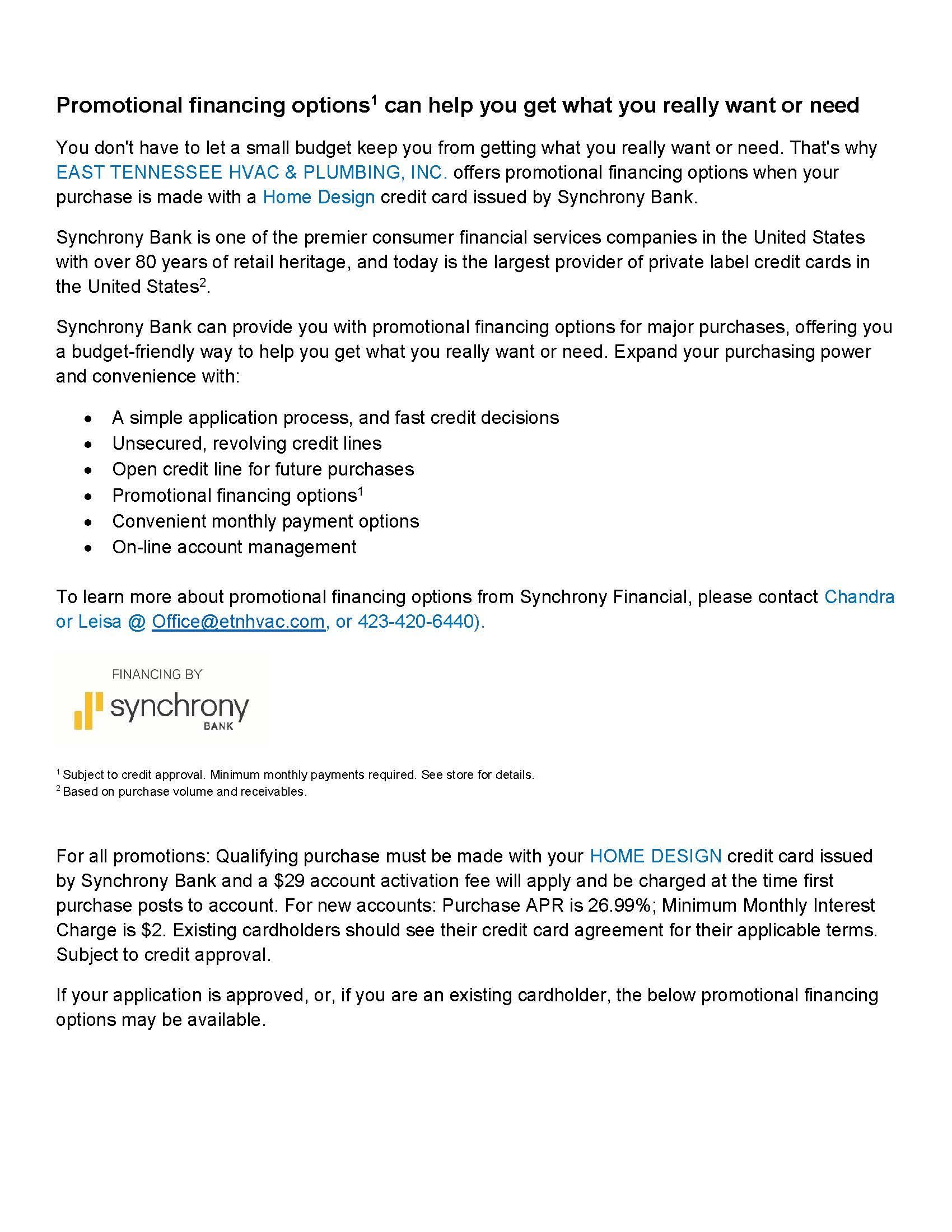 eIntegration Synchrony Finance[1228